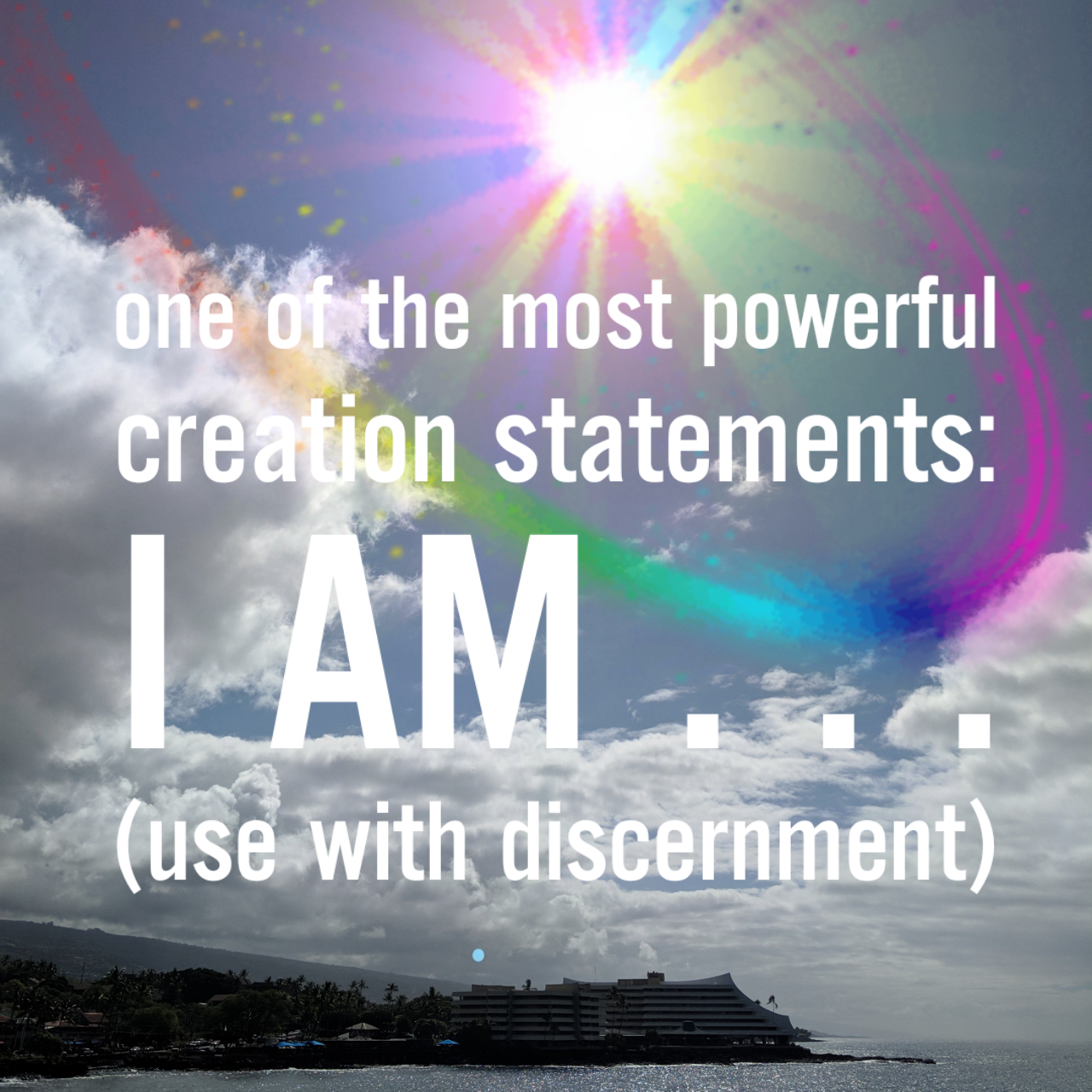 "The Powerful ""I AM"""