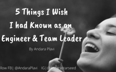 What I wish I had Known as an Engineer & Team Leader